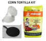 corn tortilla kit yellow